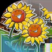 Window Painting - Graphic Garden Design Studio