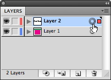 Illustrator's Layer target icon