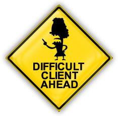 Bad client ahead