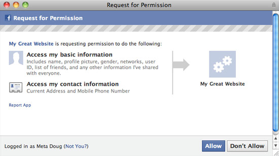 Facebook ignoring your privacy concerns