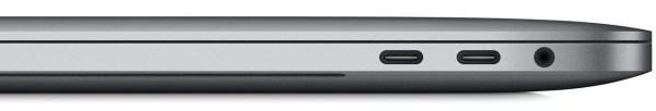 MacBook Pro 2016 ports