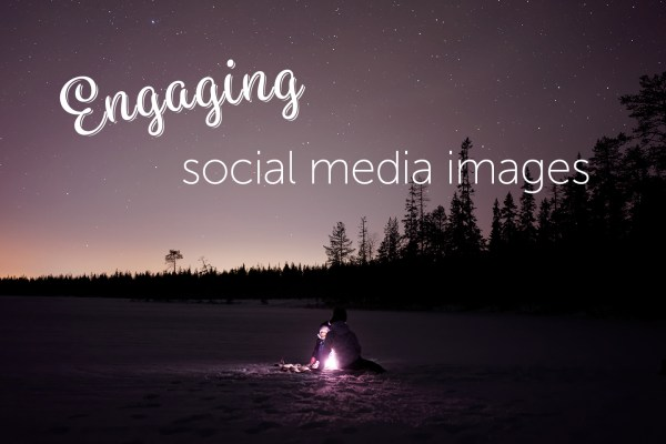 Engaging social media images