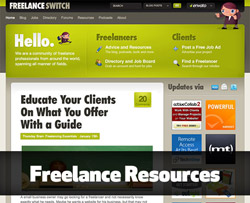 Freelance resources