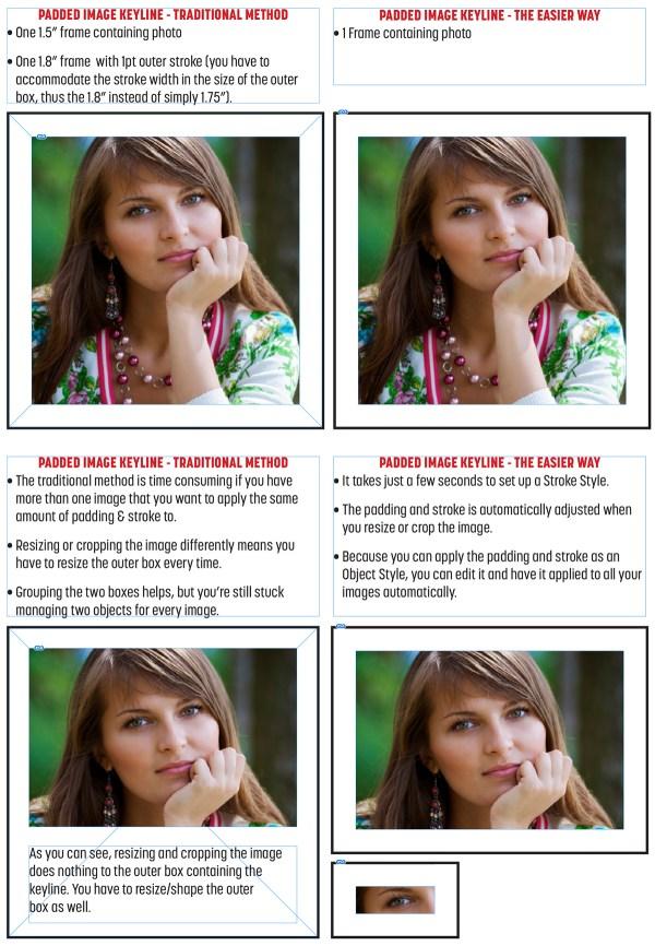 Benefits of custom Stroke Styles