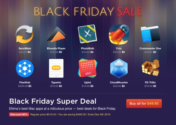 Eltima Black Friday Sale