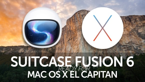 Fusion 6 El Capitan update