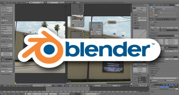 Blender 3D animation software for Mac