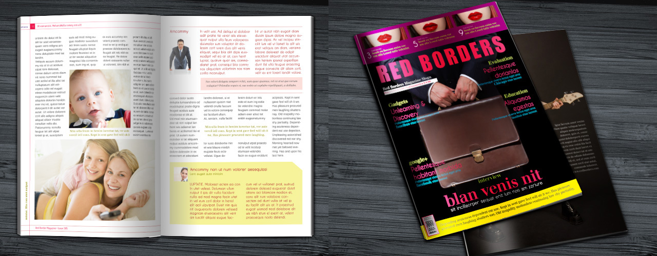 Free adobe indesign templates the graphic mac for Adobe indesign magazine templates free download
