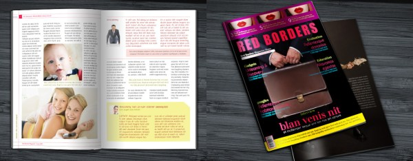 Free InDesign template downloads