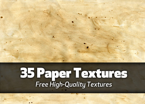 35 high-quality paper textures