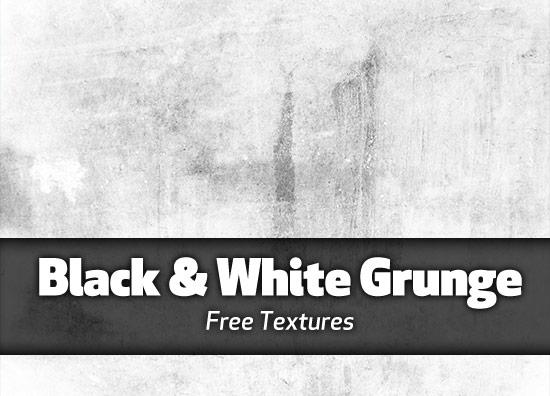 Black & White Grunge Textures