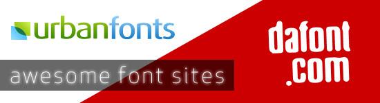 Font sites