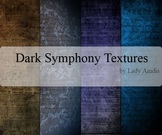 Free Dark Symphony Textures