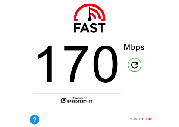 Netflix Speed Test