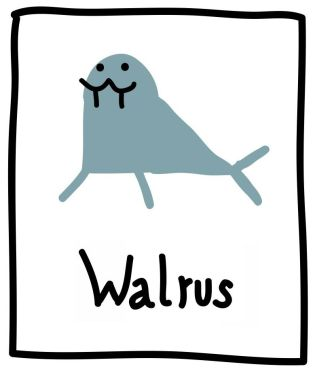 The Graphic Recorder - Visual Vocabulary - Ed Emberley Tribute - Walrus