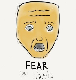The Graphic Recorder - Doug Neill - Visual Vocabulary - Facial Expression - Fear