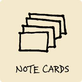 Note Cards Visual Vocabulary - The Graphic Recorder - Doug Neill