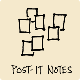 Post-It Notes Visual Vocabulary - The Graphic Recorder - Doug Neill