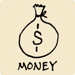 Money Visual Vocabulary - sketchnoting visual note taking doodling