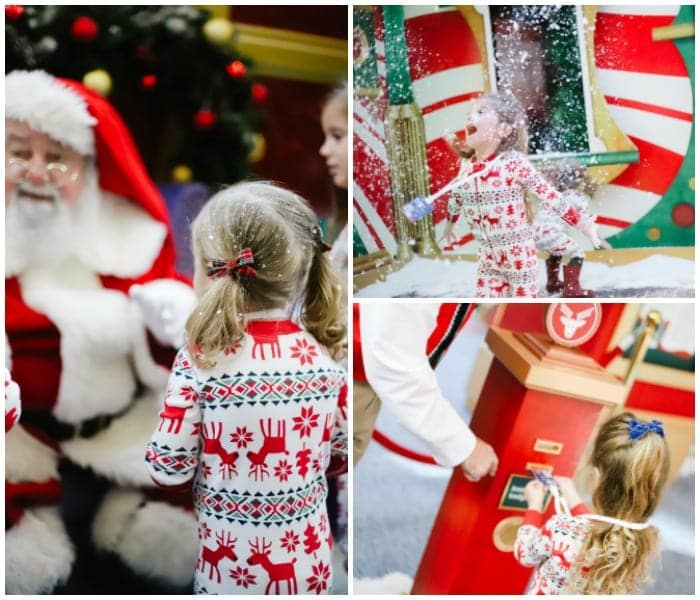 Christmas events in Tampa Florida / Family friendly Christmas events in Tampa Bay / The best Christmas events in Tampa / Christmas at International Plaza / Santa Visits in Tampa