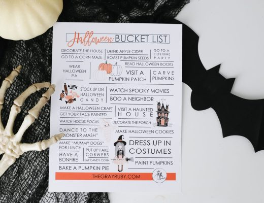 halloween bucket list
