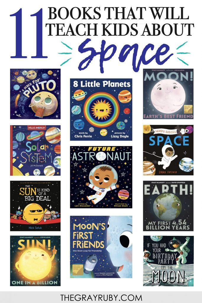 books that teach kids about space