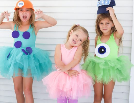 Easy and Inexpensive DIY Monster Inc Costumes