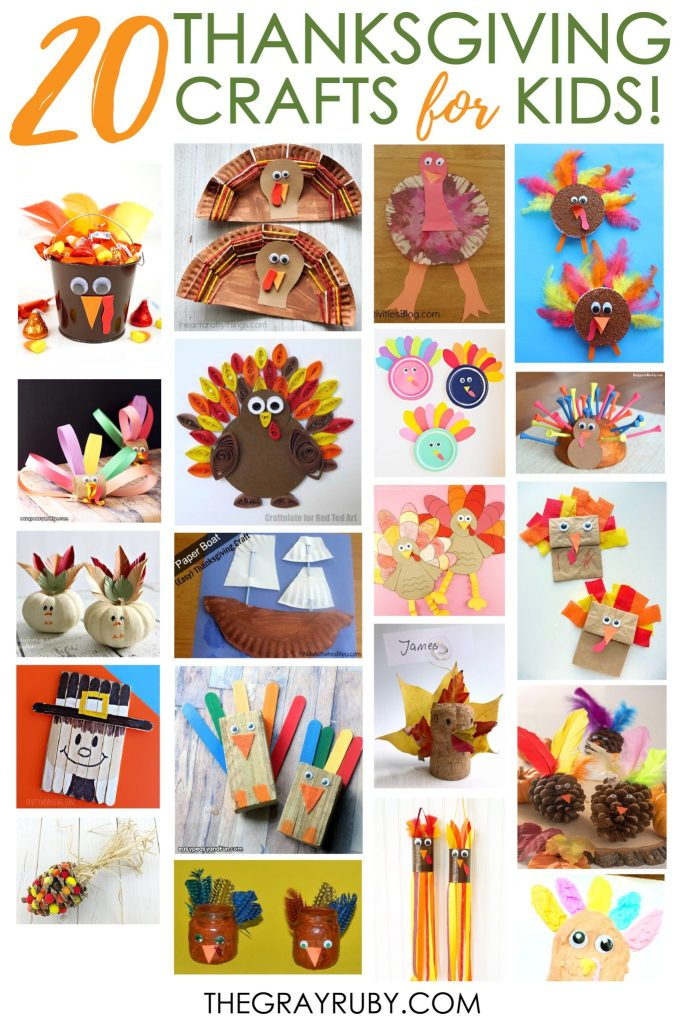 20 thanksgiving crafts for kids - thanksgiving activities for toddlers