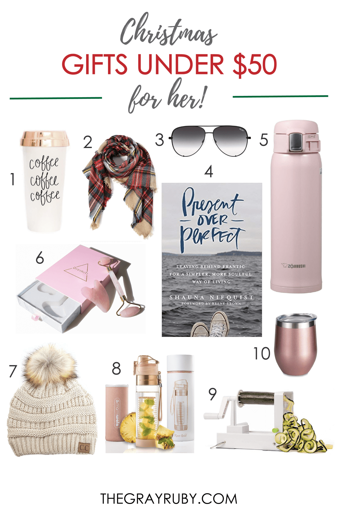 best gifts for women under $50