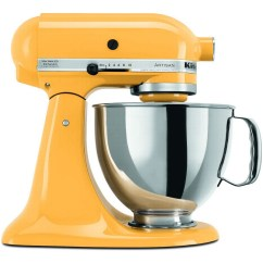 Kitchen Aid Standing Mixer Corner Base Cabinet Kitchenaid Artisan Stand  Yellow Pepper The Great