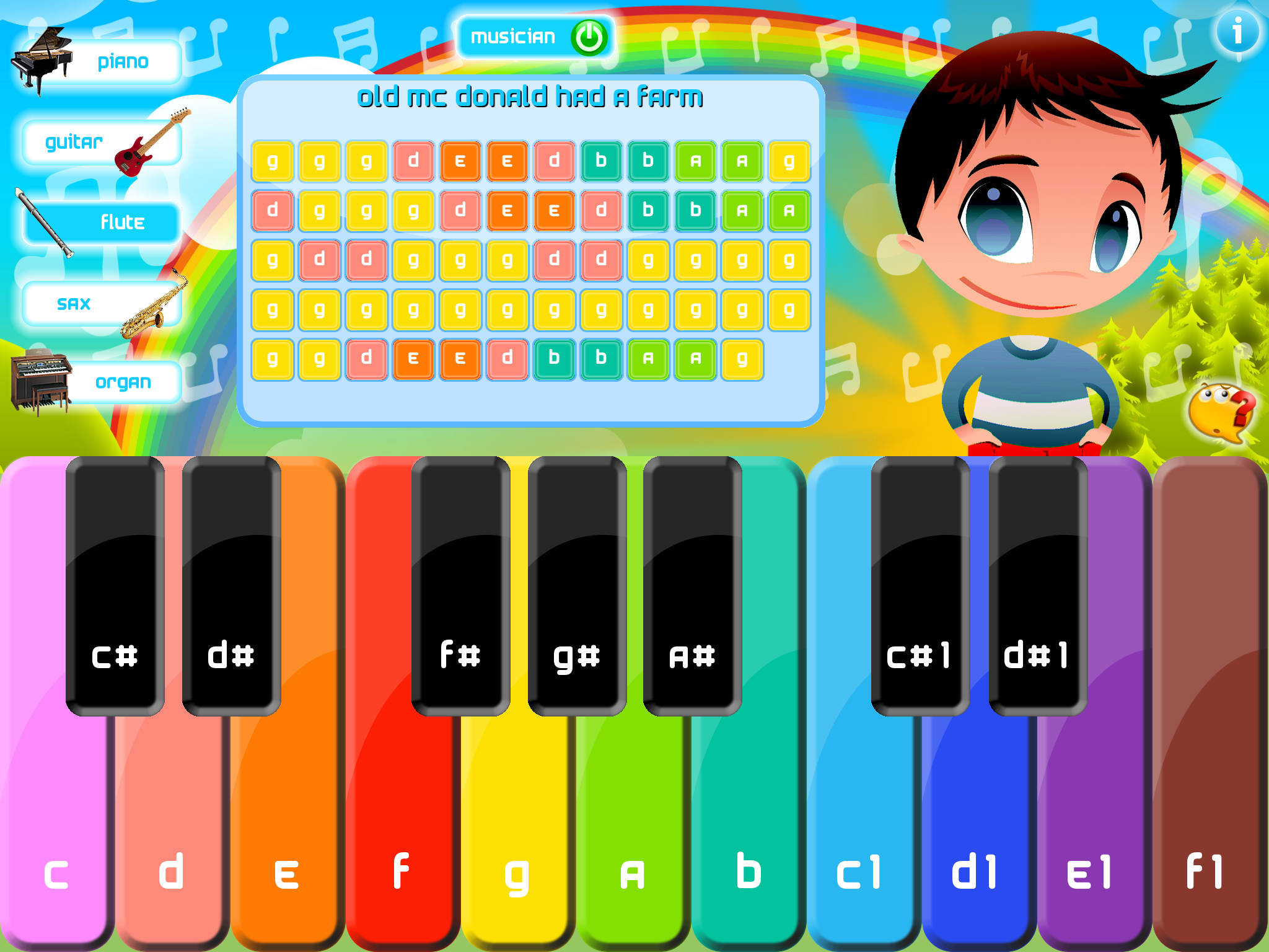 Kids Xylophone Sheet Music