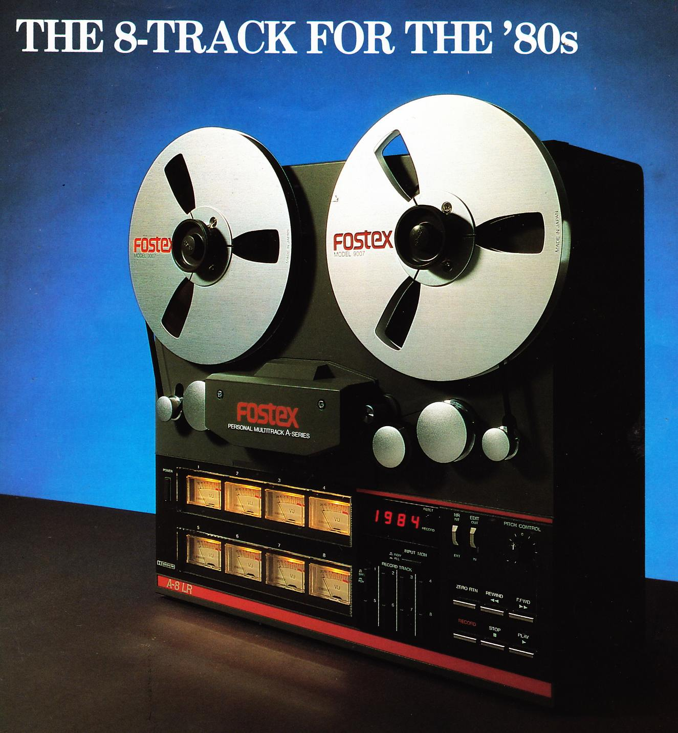 7 8 Track Reel To Reel Tapes Recorded On A Fostex A8
