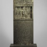Metternich Stele, cat goddess Bast