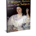7 women artists and their cat subjects, cats in art, women and cats
