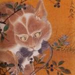 Cat and Rat Kawanabe Kyosai Japanese 1831-1889 cat poems
