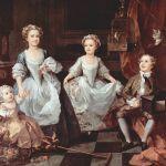 The Graham Children 1742 William Hogarth National Gallery, London