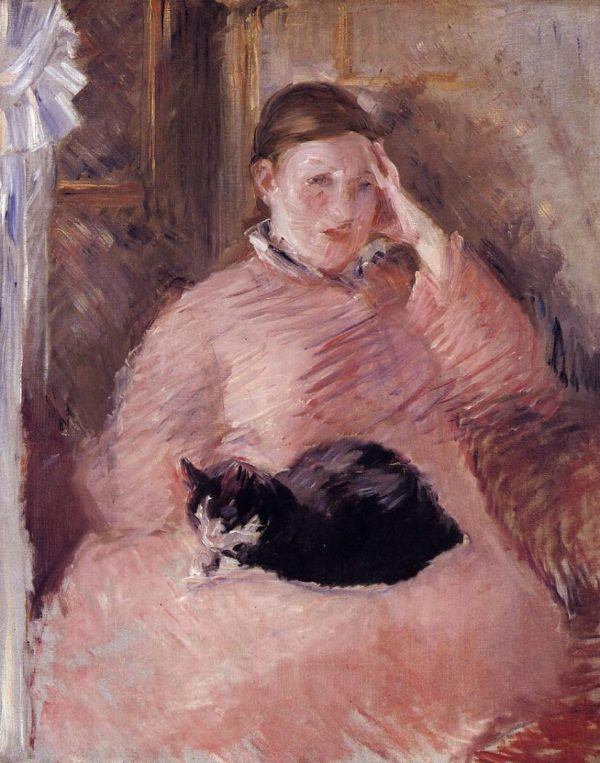 Douard Manet 1832-1883 French Great Cat