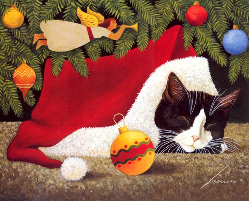 Lowell Herrero 1921 2015 American THE GREAT CAT