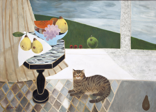 Mary Fedden 19152012 British  THE GREAT CAT