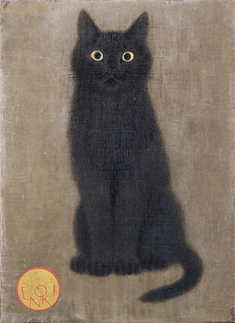 Toshiyuki Enoki, Black Cat Looking Straight Ahead