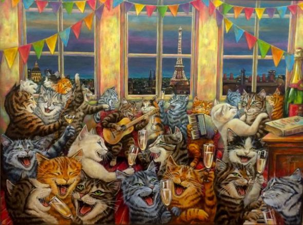 Les Chats, Martine Coppens