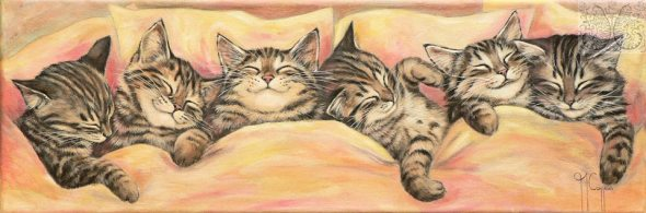 Martine Coppens, cats in art, 7