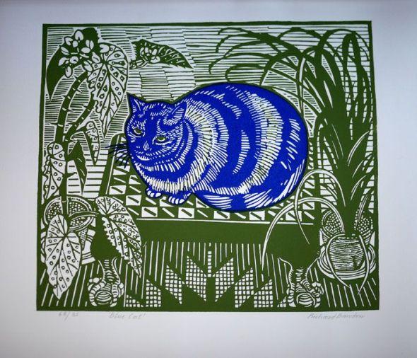 Blue Cat, Richard Bawden