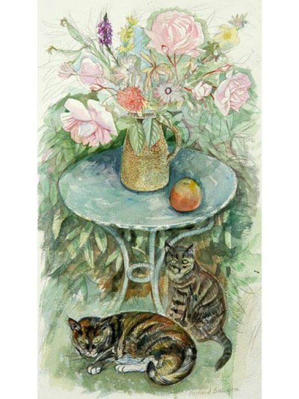 Cats & Roses, Richard Bawden