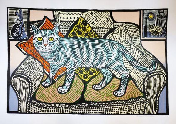 Fizz the Cat, 2010  Richard Bawden
