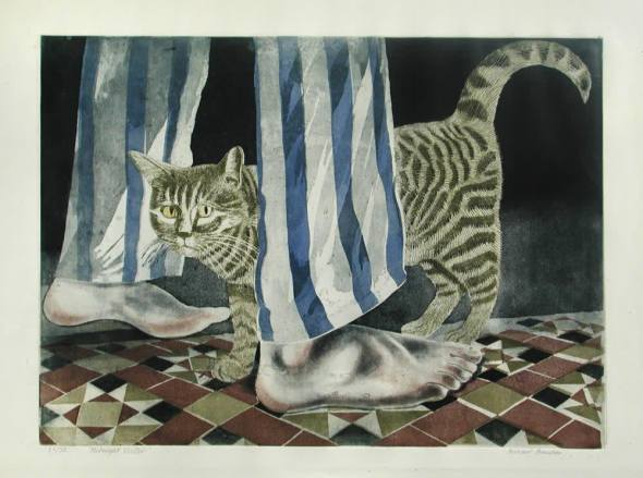 Midnight Visitor, Richard Bawden