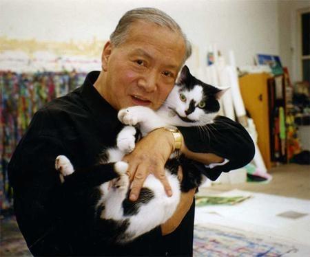 Walasse Ting, cat artist