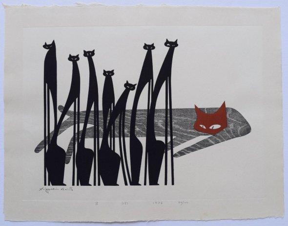 Kiyoshi Saito, Cats