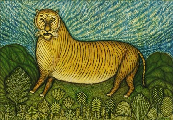 Morris Hirshfield, Tiger, 1940