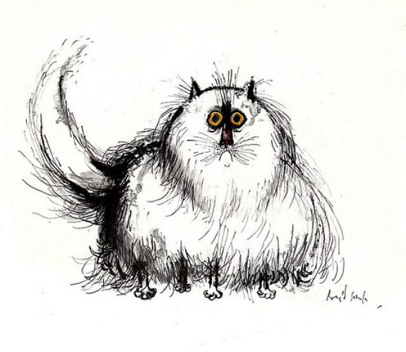 Puffy Cat, Ronald Searle